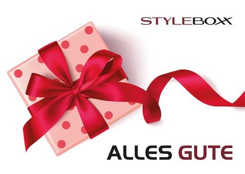 StyleBoxx Gutschein Trägerkarte neutral