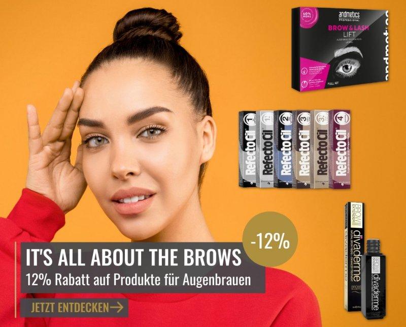 Rabatt auf Lash & Brow Produkte