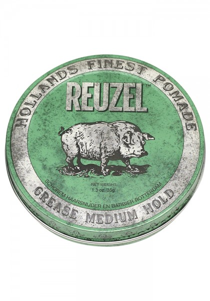 Reuzel Pomade Green Grease Medium Hold, 35 g
