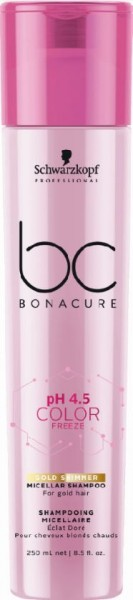BC Bonacure Color Freeze Gold Shimmer Shampoo