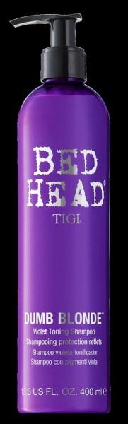 BED HEAD Dumb Blonde Purple Toning Shampoo, 400 ml
