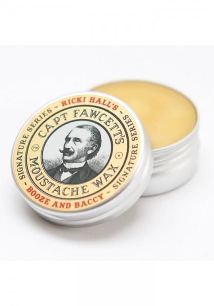 Ricki Hall Booze & Baccy Moustache Wax