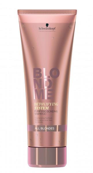 Schwarzkopf BlondMe Detoxifying System Purifying Bonding Shampoo