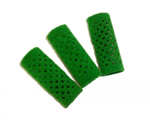 Efalock Metallwickler beflockt grün 24 mm 12 Stück