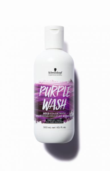 Bold Color Wash Purple Wash