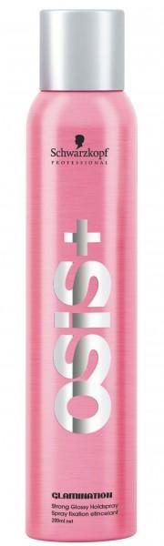 Schwarzkopf OSiS+ Glamination Strong Glossy Holdspray, 200 ml