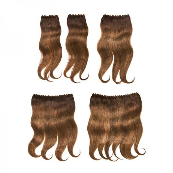 Clip-In Weft Haarteile - verschiedene Farben