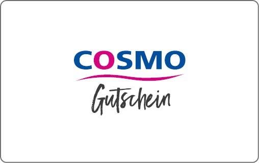 COSMO Geschenkgutschein - ab 25,- €