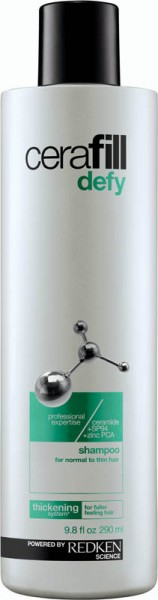 Redken Cerafill Defy Shampoo, 290 ml