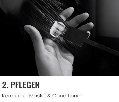 Kérastase Pflegeroutine Schritt 2 Veredeln mit Maske & Conditioner
