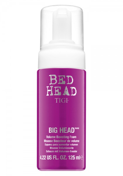 TIGI BED HEAD BIG HEAD Volume Boosting Foam, 125 ml