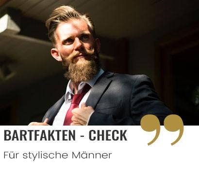 Bartfakten für stylische Männer Barttipps