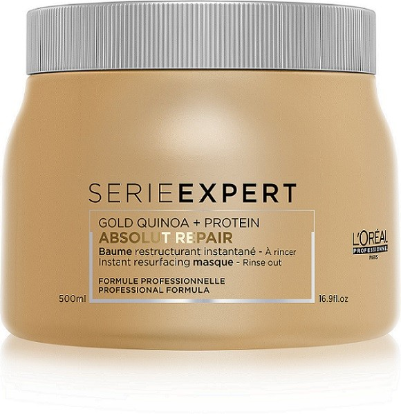 Serie Expert Absolut Repair Gold Quinoa und Protein Maske 0,5l