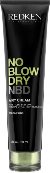 No Blow Dry Airy Cream für feines Haar