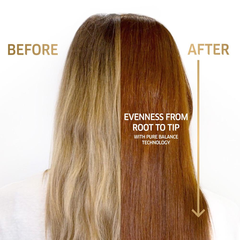 Test haarfarben braun