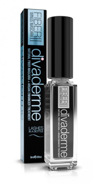 Divaderme Cosmetics Fiberwings Black Mascara