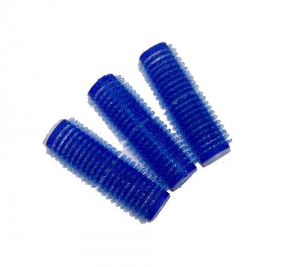 Haftwickler dunkelblau 15 mm 12 Stück