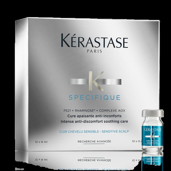 Kérastase Spécifique Dermo Calm - Cure Apaisante (12er Coffret 12x6 ml)