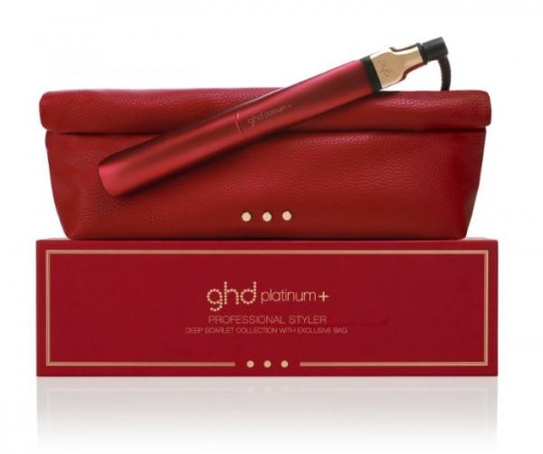 ghd platinum+ deep scarlet Styler