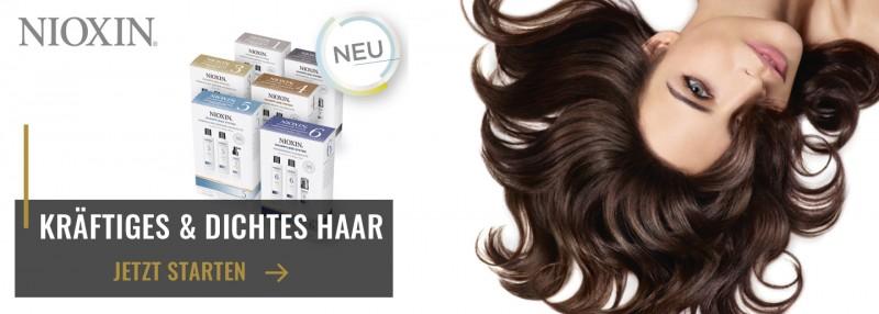 Nioxin gegen dünner werdendes Haar