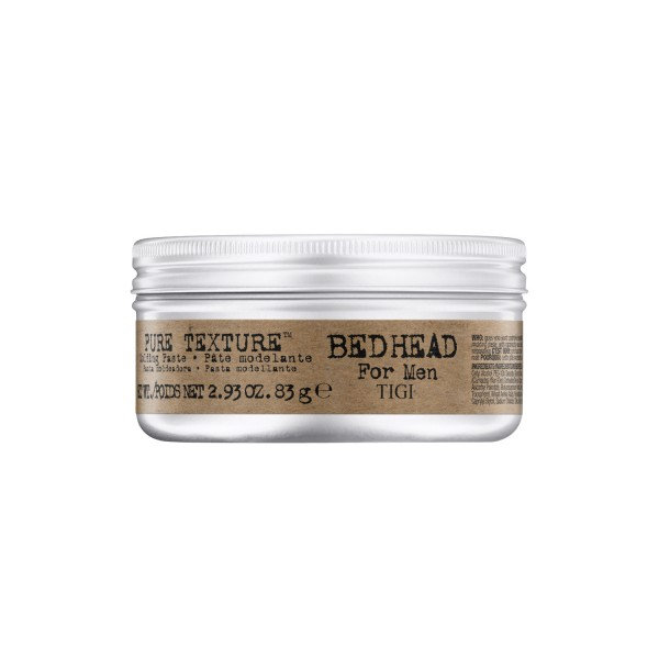 BED HEAD for Men Pure Texture Molding Paste, 83 g