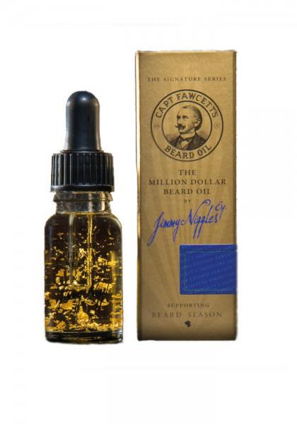 Captain Fawcett Million Dollar Beard Oil, 10 ml