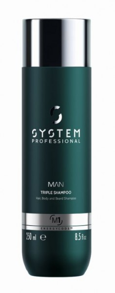 Energy Code MAN Triple Shampoo
