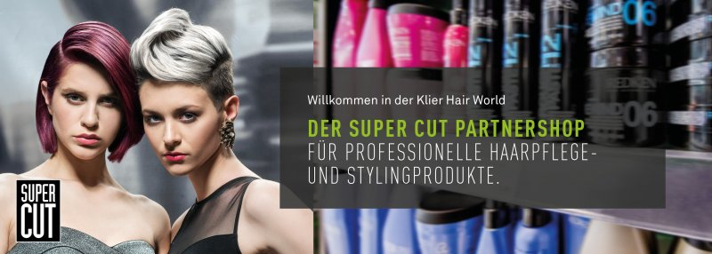 Super Cut Partner-Onlineshop Klier Hair World