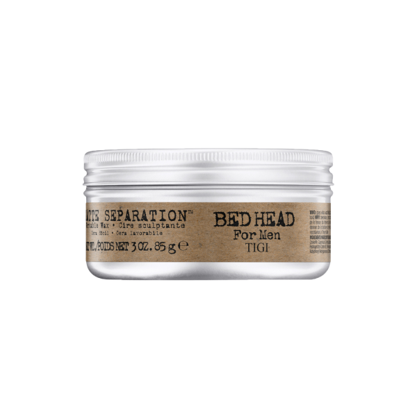 BED HEAD for Men Matte Separation Workable Wax, 85 g