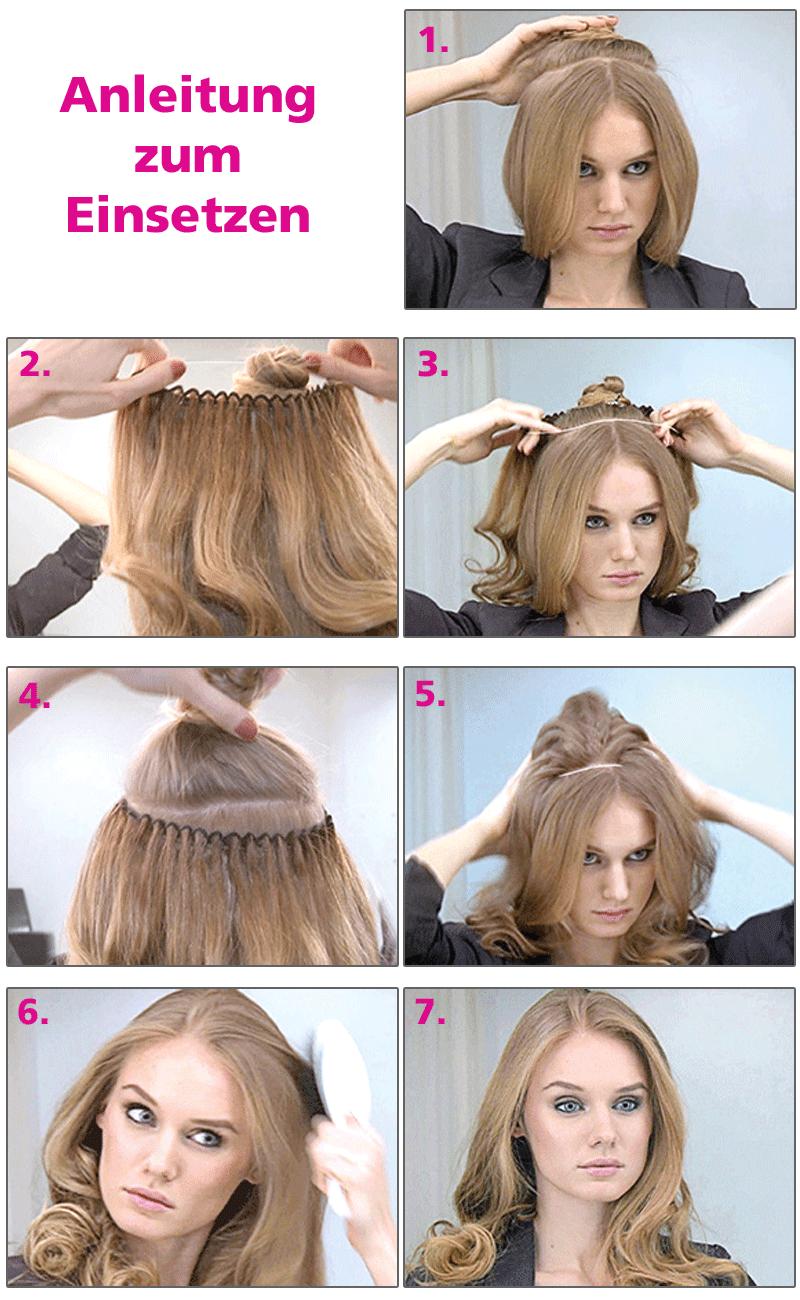 Balmain Hair Hair Dress Haarteil Verschiedene Farben