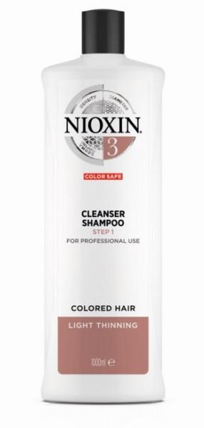 Cleanser Shampoo 3 1L