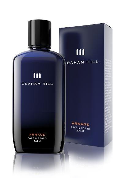 Graham Hill Arnage Face & Beard Balm, 200 ml