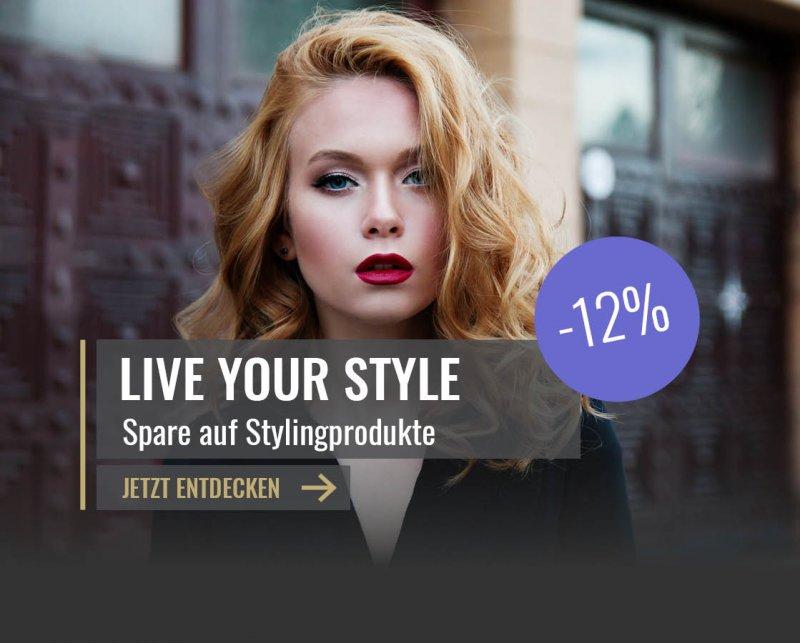 12% auf Stylingprodukte