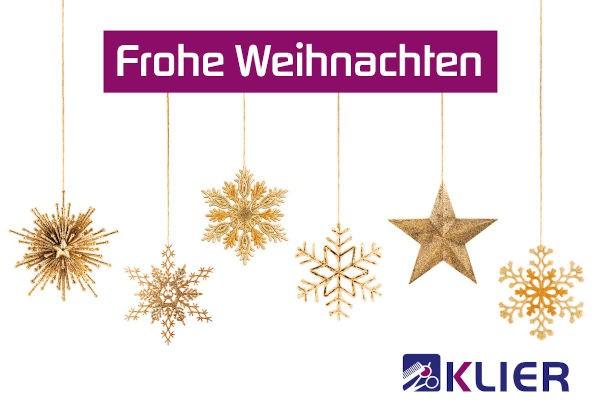 Frisör Klier Gutschein Trägerkarte Weihnachten