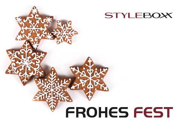 StyleBoxx Gutschein Trägerkarte Weihnachten