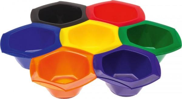 Färbesschalen-Set 7-farbig