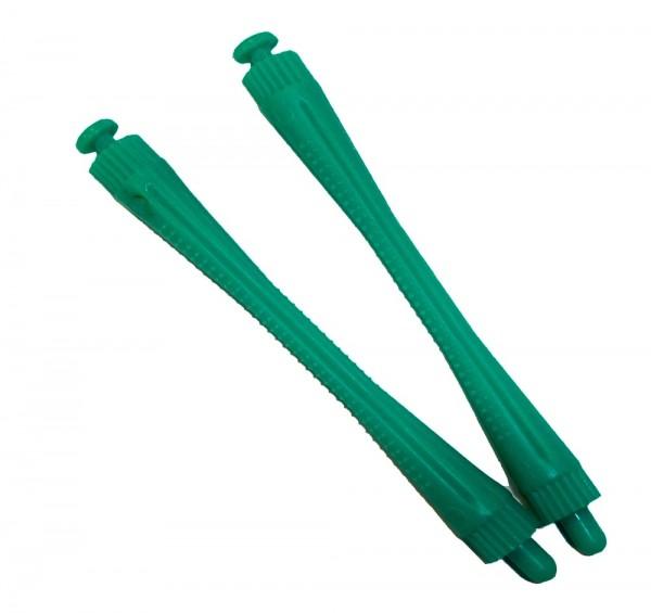 Dauerwellenwickler grün, 5 mm