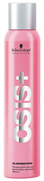 Schwarzkopf OSiS+ Glamination Plumping Shine Mousse, 200 ml
