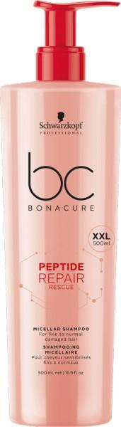 BC Bonacure Peptide Repair Rescue Shampoo 0,5L