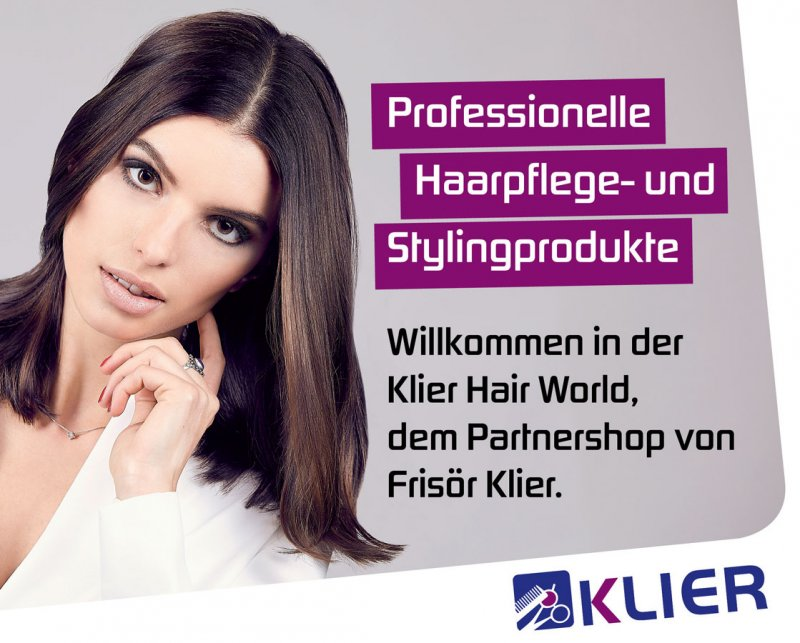 Friseur Klier Responsive Partner Onlineshop Klier Hair World