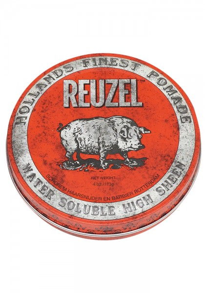 Reuzel Pomade Red Water Soulable High Sheen, 113 g