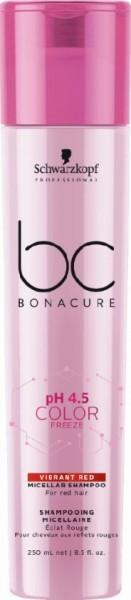 BC Bonacure Color Freeze Vibrant Red Shampoo